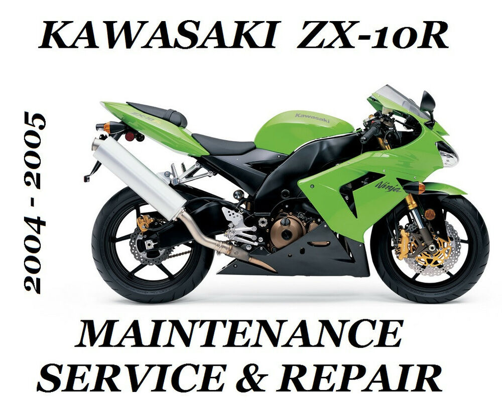 2004 2005 Kawasaki ZX-10R Ninja Service Manual ZX 1000 Maintenance Repair  ZX10R | eBay