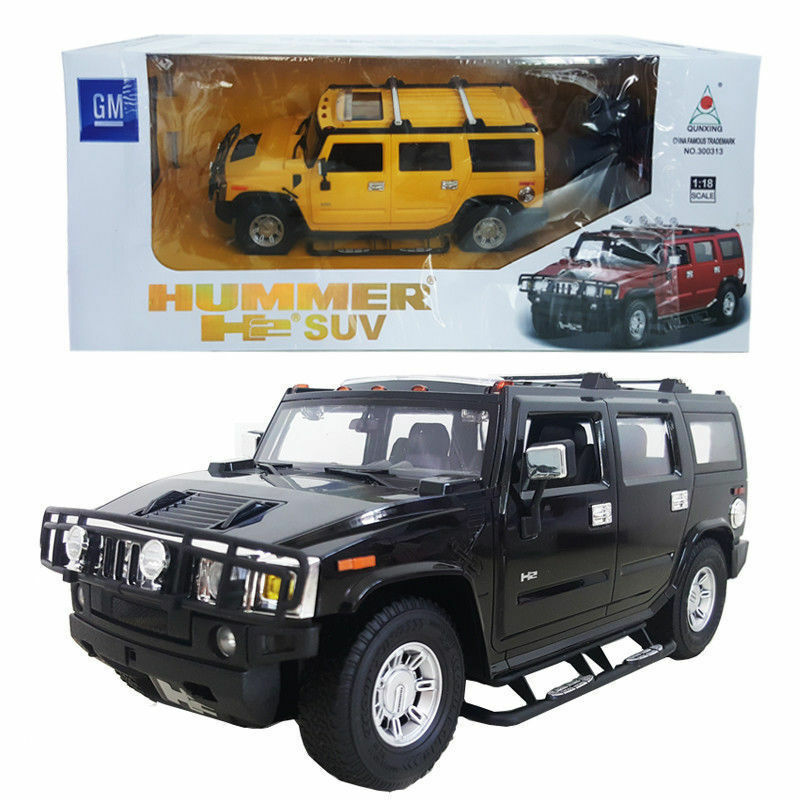 Details About Licensed 1 18 Hummer H2 Suv Battery Radio Remote Control Rc Vehicle Model Car