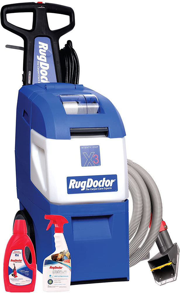 Details about Professional Grade Carpet Cleaner Machine Rug Doctor Mighty Pro X3 Pet NEW 2days