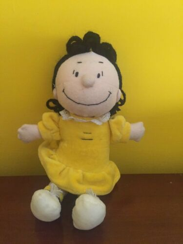 LUCY-SNOOPY-PUPAZZO-PELOUCHE-VINTAGE-ANNI 80-BAN1
