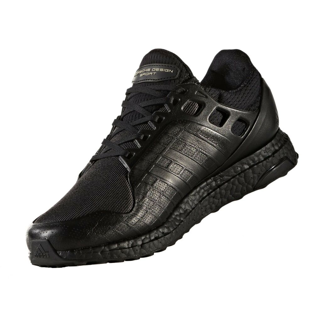 b261302d2eab Details about adidas Ultra Boost Trainer Porsche Design Triple Black -  S81203 Sz us 8.5-10.5
