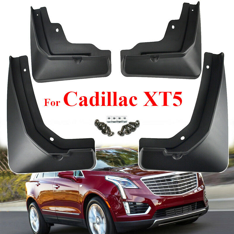 4pcs Mud Flaps For Cadillac XT5 2016-2019 Splash Guards