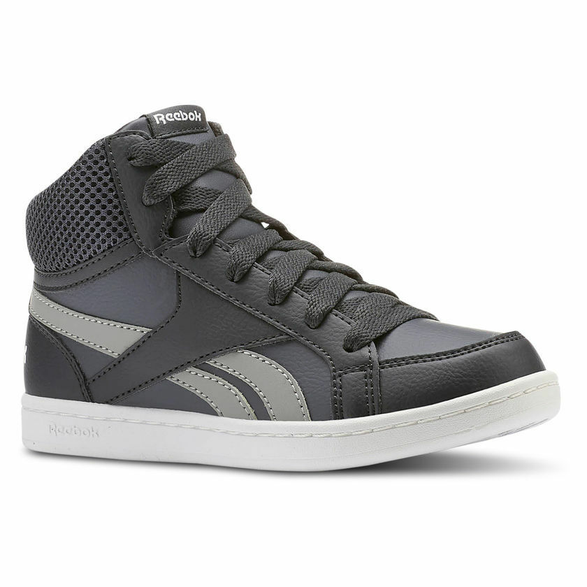 f5ccb4bd528 Details about Reebok Boys Shoes Fashion Royal Prime Mid Kids Comfort Angle  Shoe CN4757 New