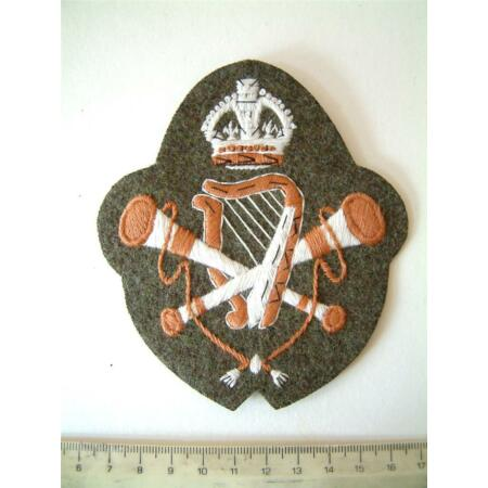 img-WW1 BRITISH ARMY MUSICIAN SLEEVE BADGE MUSICIANS CLOTH PATCH INSIGNIA