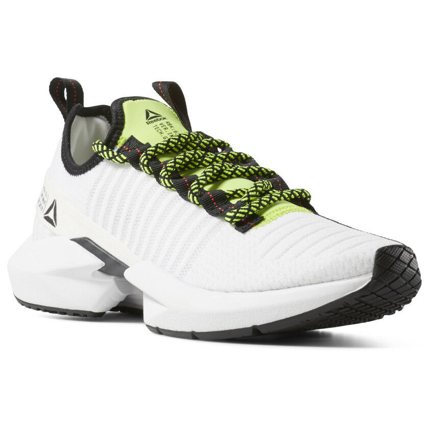 aafd2bd65434 Details about Reebok Sole Fury White Black Lime Red Running Lifestyle Men s  DV4482