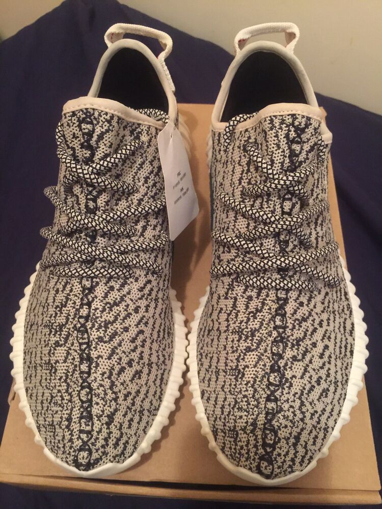 6fb48e36b578 Details about Authentic Adidas Yeezy Boost 350 Turtle Dove Sz 8 DS With  Goat Verification Card