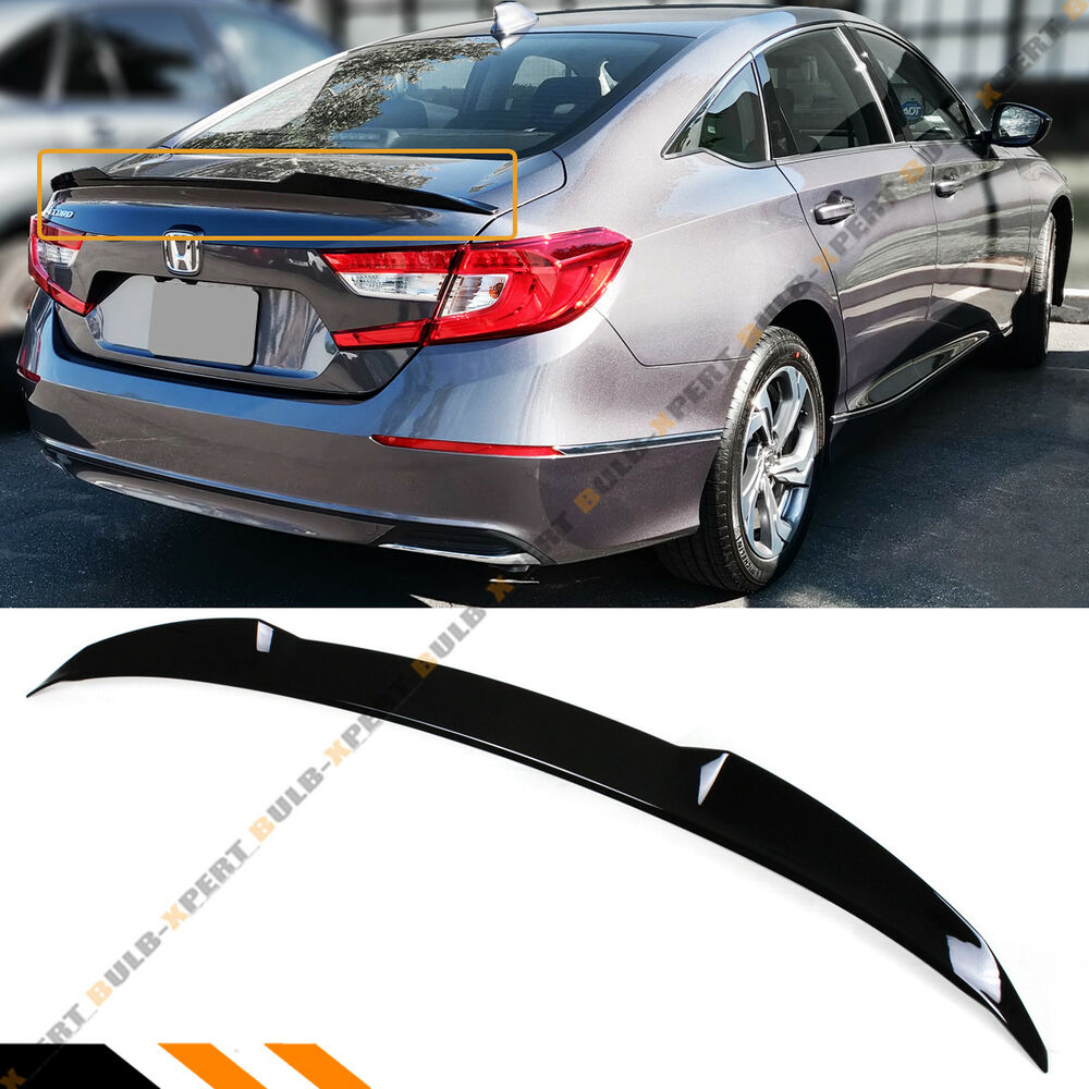 FOR 2018-2019 HONDA ACCORD SLEEK PAINTED GLOSSY BLACK