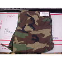 NEW Large Long Pants Trousers Hot Weather Woodland Camouflage Combat BDU loc#18