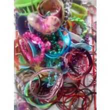 Large lot of jewelry for kids. bracelets, necklaces, and more.