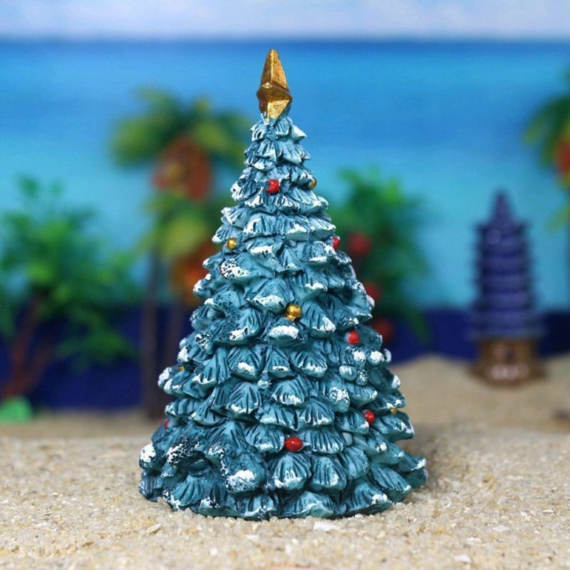 Details about Fish Tank Aquarium Christmas Tree/House Resin Crafts  Landscaping Decor 2019 Top - Fish Tank Aquarium Christmas Tree/House Resin Crafts Landscaping