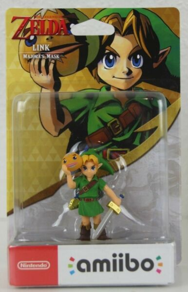 Link - Majoras Mask - The Legend of Zelda- Nintendo Amiibo Figur - Neu OVP