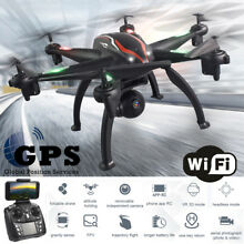 6 axis FPV RC Drone with 1080P HD Wide-angle 5g WIFI Adjustable Camera Dual GPS