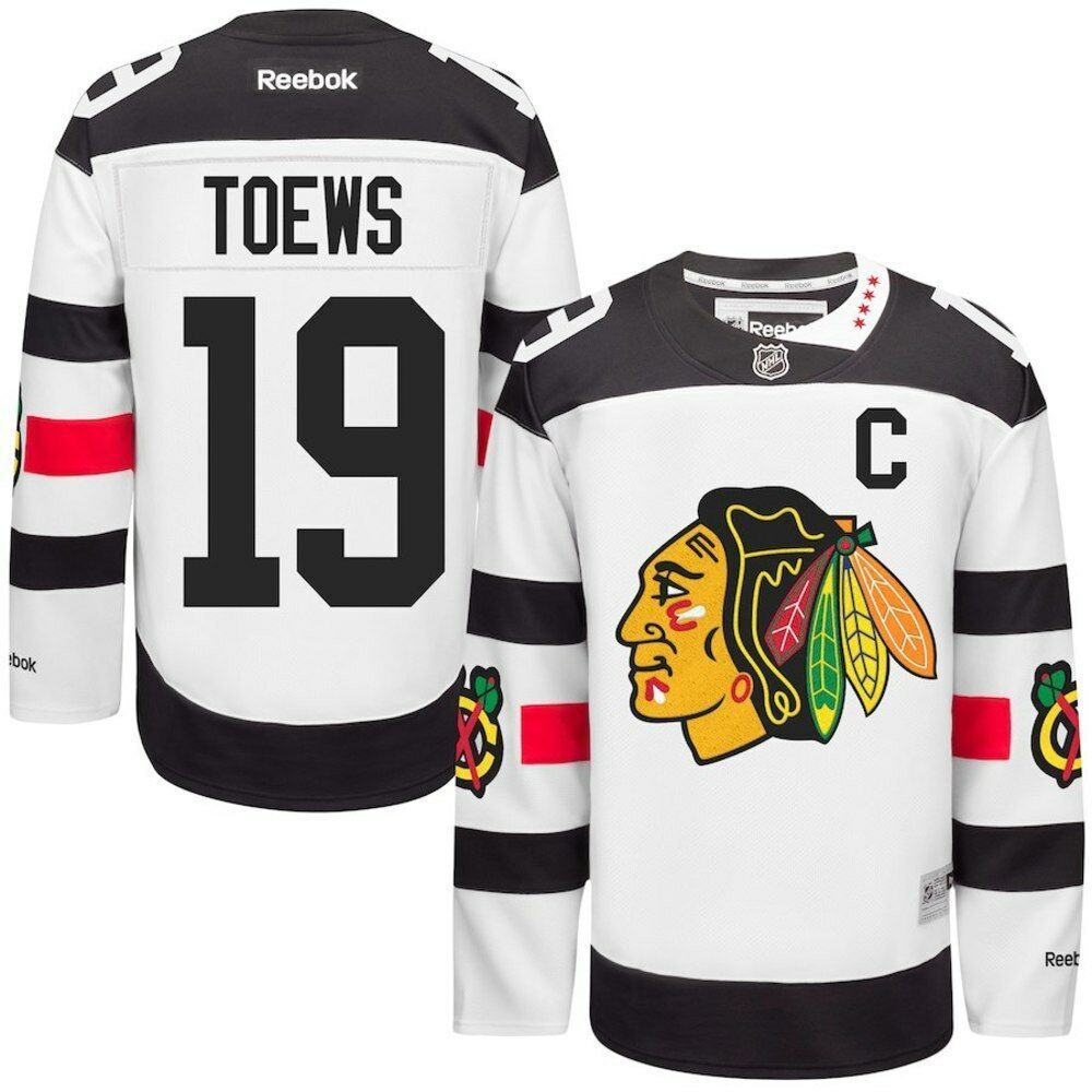 4739a2532aa Details about TOEWS Chicago BLACKHAWKS Reebok Premier 2016 Stadium Series  Official NHL Jersey