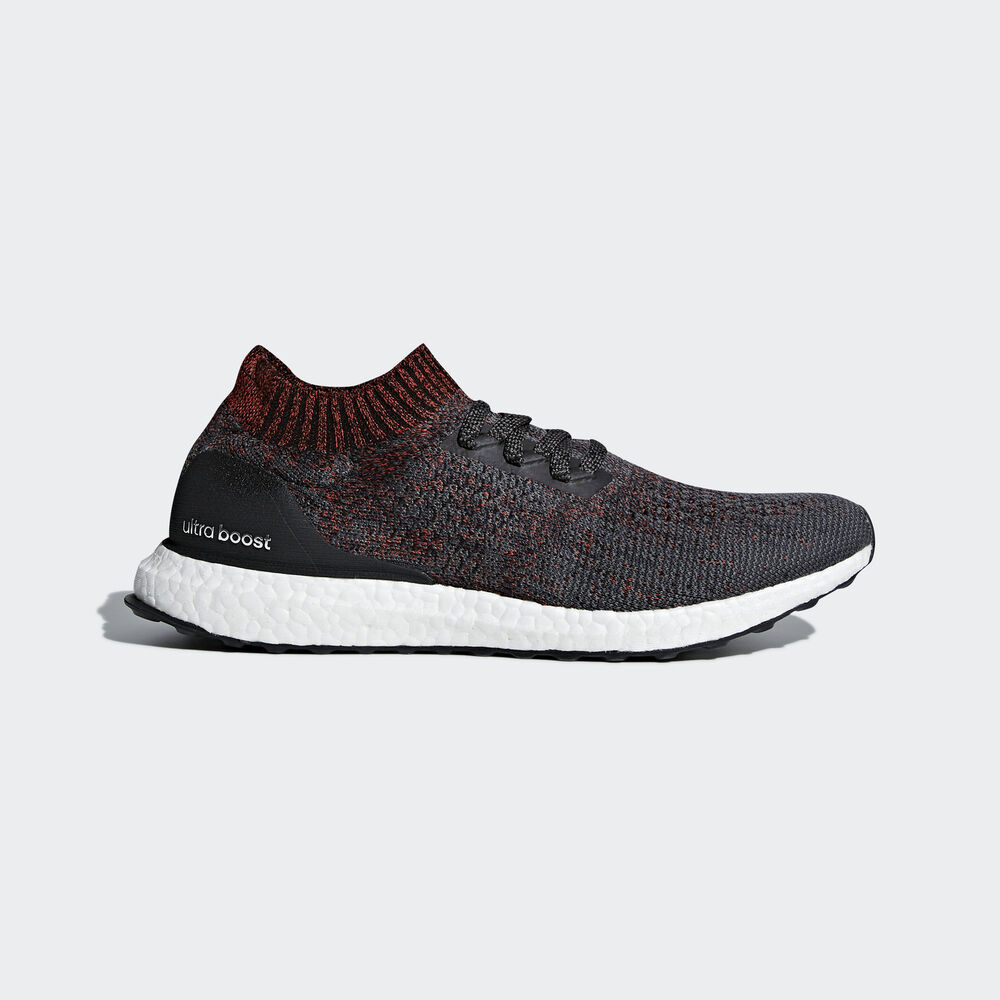 sports shoes 7d7e0 57136 Details about NEW Adidas Ultra Boost Uncaged UK Size 7 Mens Trainers Black  Red White