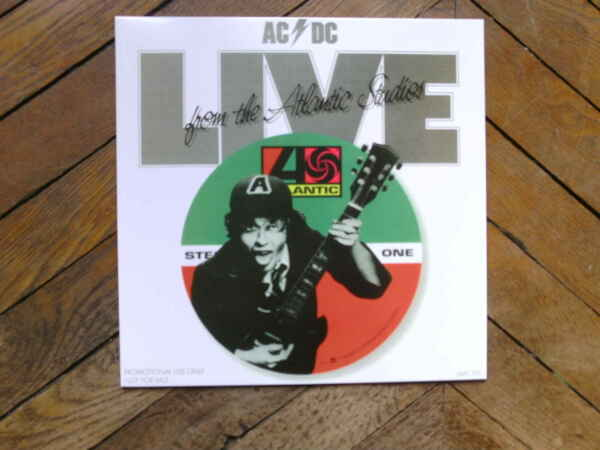 AC DC Live from Atlantic studio 77 LP