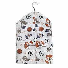 Bedtime Originals Baby League Diaper Stacker - Blue, Gray, White, Animals