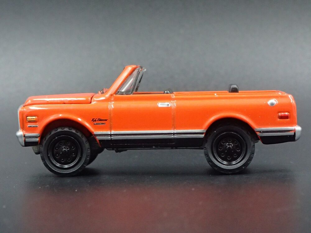 Details About 1970 Chevy Chevrolet Blazer Convertible 1 64 Scale Collectible Cast Model Car