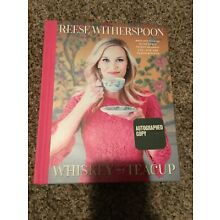 Whiskey In A Teacup ✍SIGNED✍ by REESE WITHERSPOON New Hardback 1st Edition Print