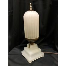 Art Deco Lamp Light Bullet Torpedo