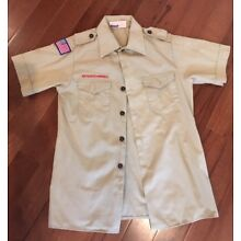 Boy Scouts of America YOUTH L (Large) Scout Shirt *short sleeve* BSA