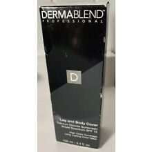 Dermablend Leg And Body Cover Natural 3.4 Oz New