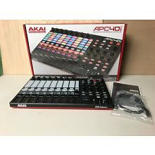 Akai APC40 MKII 2 Ableton Live Performance Controller With Software