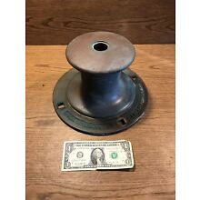 Original Large  Antiquel Bronze Windlass Principal Parts