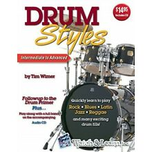 Drum Styles [With CD (Audio)] by Wimer, Tim