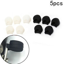 Set of 5 Pieces Comfortable Clarinet Thumb Rest Cushion Protector Rubber HK