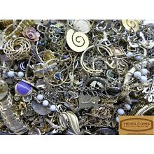 3 Pounds, Lot of Gold Plated Jewelry for Refining Scrap Craft  -  #B12764
