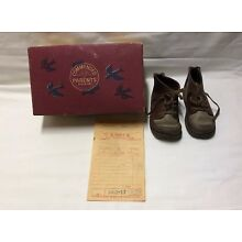 Vintage Jumping Jacks Leather Child Baby Infant Shoes 5