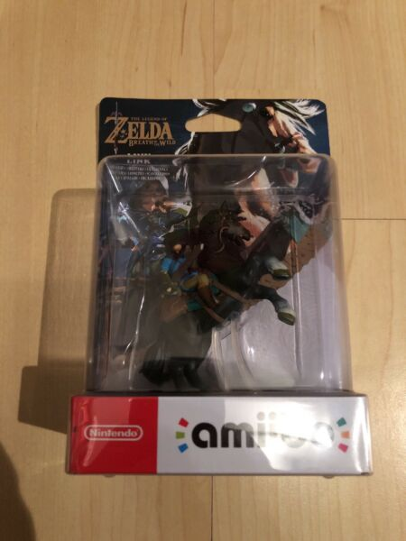 Nintendo Amiibo The Legend Of Zelda Link Figur Original Verpackt