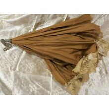 Antique C1890 Extremely Hard to Find Original Parasol For Wicker Baby Carriage