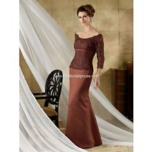 JORDAN Caterina Mothers Dresses - Style 9023 SIZE 22 EGGPLANT IN COLOR