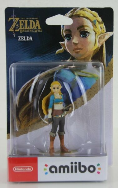 Zelda Amiibo Figur - Breath of the Wild / Legend of Zelda Neu OVP Nintendo C3