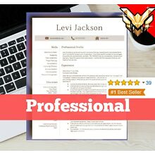 Resume | Resume Template - CV for Microsoft Word and Pages - INSTANT Download🌟