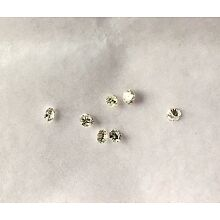 7 LOOSE DIAMONDS ROUND BRILLIANT CUT .34CTTW