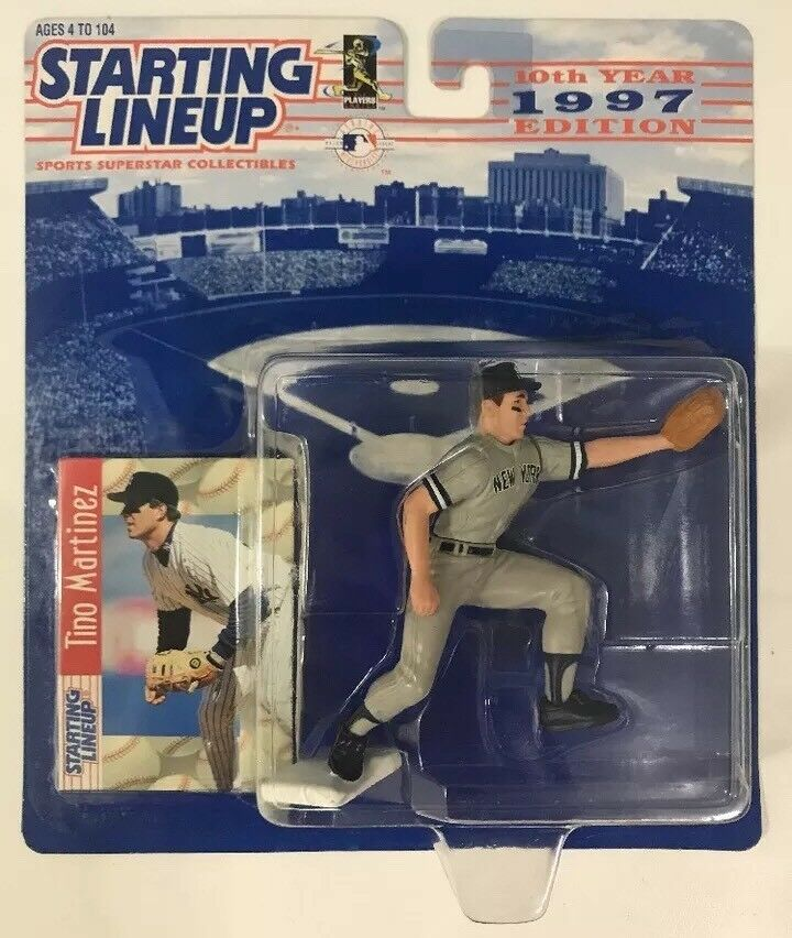 1997 TINO MARTINEZ ROOKIE STARTING LINEUP SLU NEW YORK