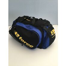E-Force Black,Blue And Yellow Racquetball Large Bag