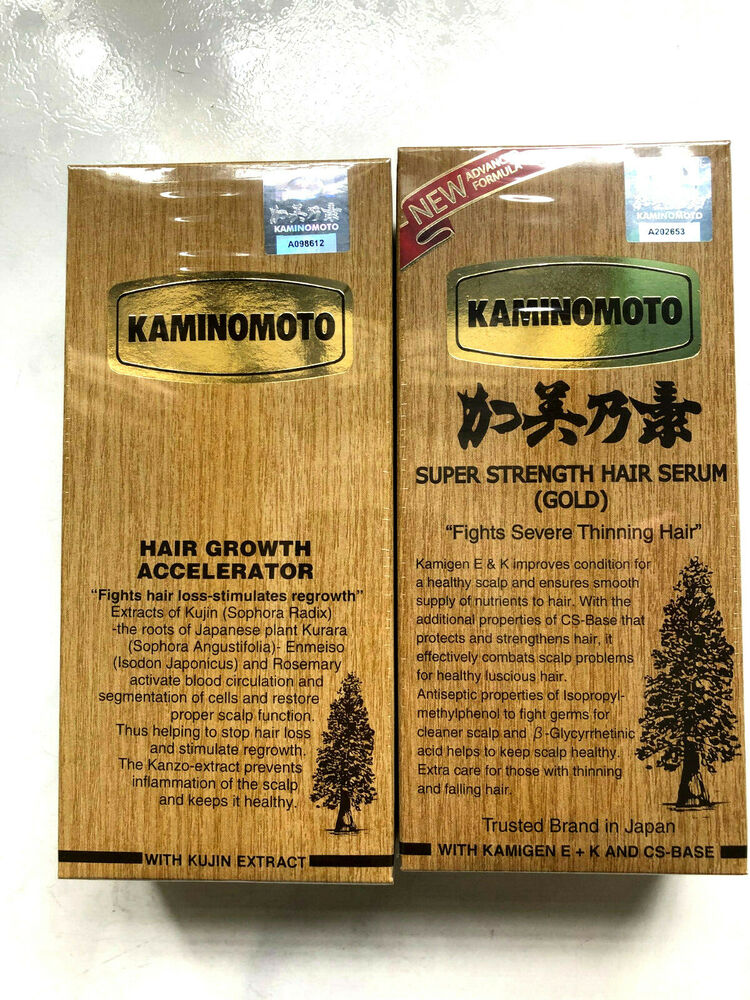 Kaminomoto Hair Loss And Growth Acceleration Gold 150ml Japan No1