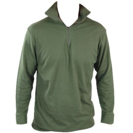 img-FRENCH ARMY SURPLUS NORGI TOP FLEECE NORWEGIAN THERMAL PULLOVER JUMPER SHIRT
