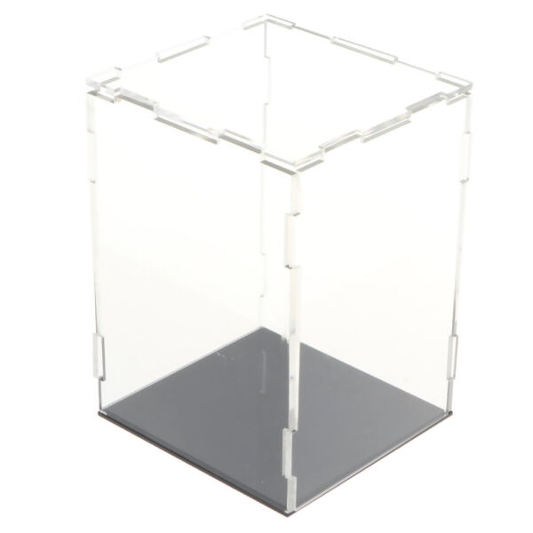 Clear Acrylic Display Box Dustproof Protection Show Case for Doll Car Model