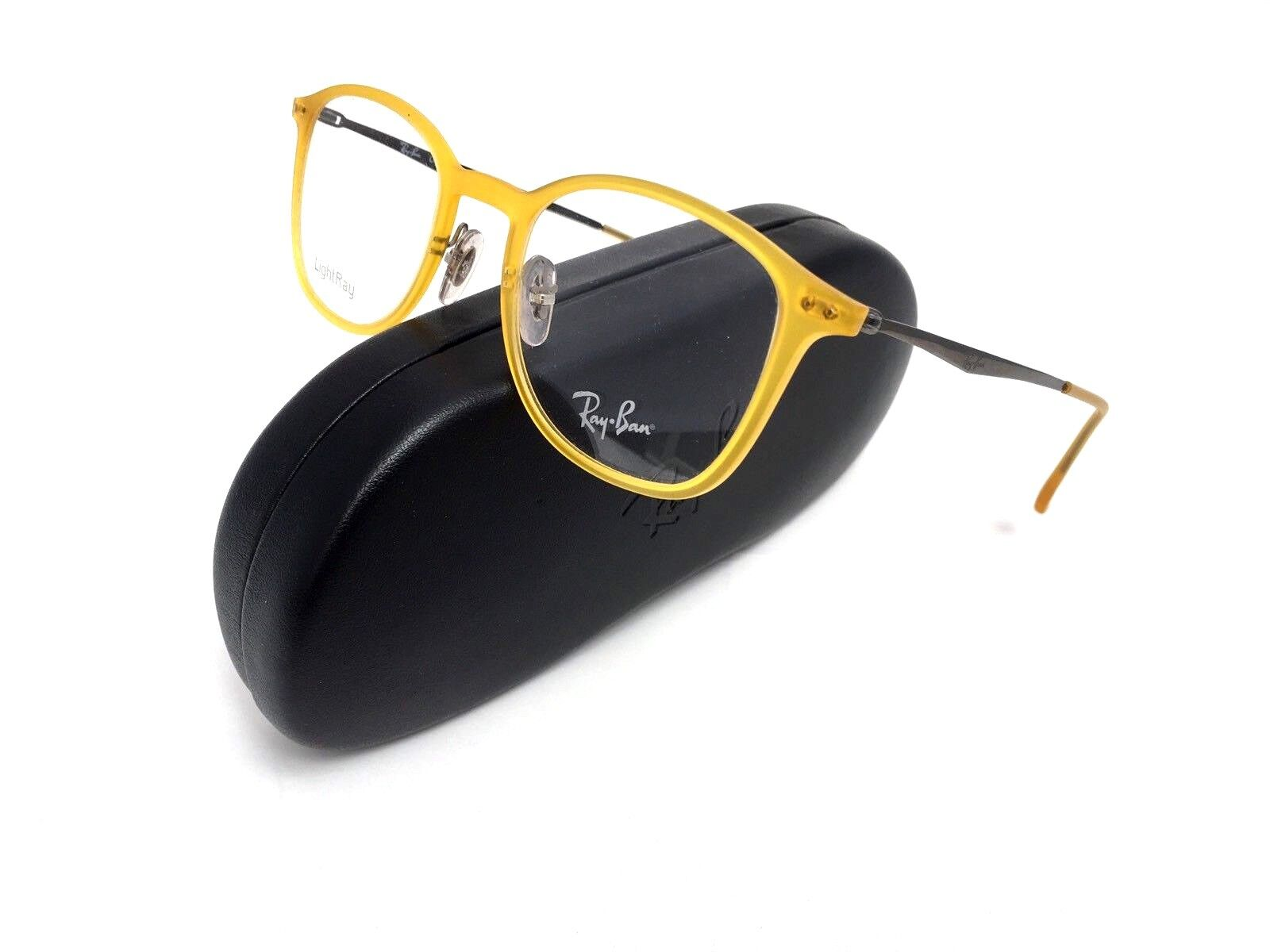 bab488223a ... Eyeglass Rx Frame Yellow Rb EAN 8053672402667 product image for Ray-ban  Rx7051-5519-47 Light Ray Unisex ...