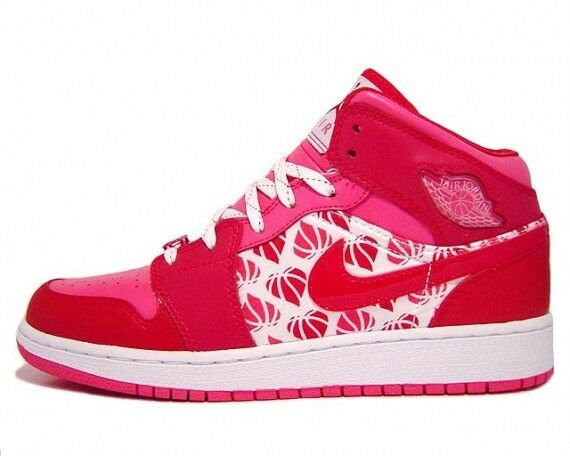 fcf5bb48a8b Details about Nike YOUTH Jordan 1 Premium (GS) VALENTINES DAY SIZE 5.5Y  WOMEN S SIZE 7 DS RARE
