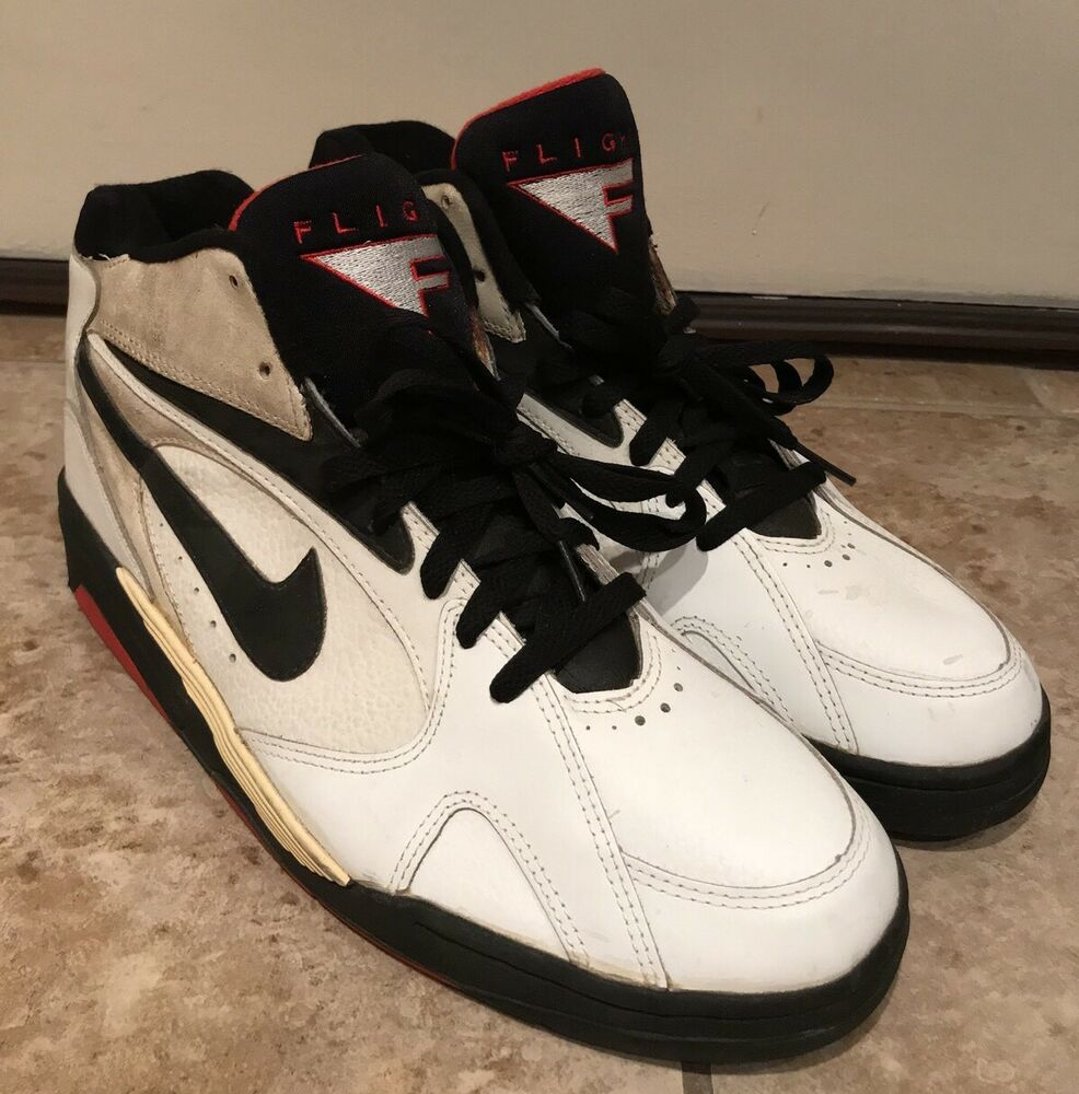 66b98d7e475e8b Vintage nike air flight basketball shoes mens size ebay jpg 986x1000 Nike  air flight 1993