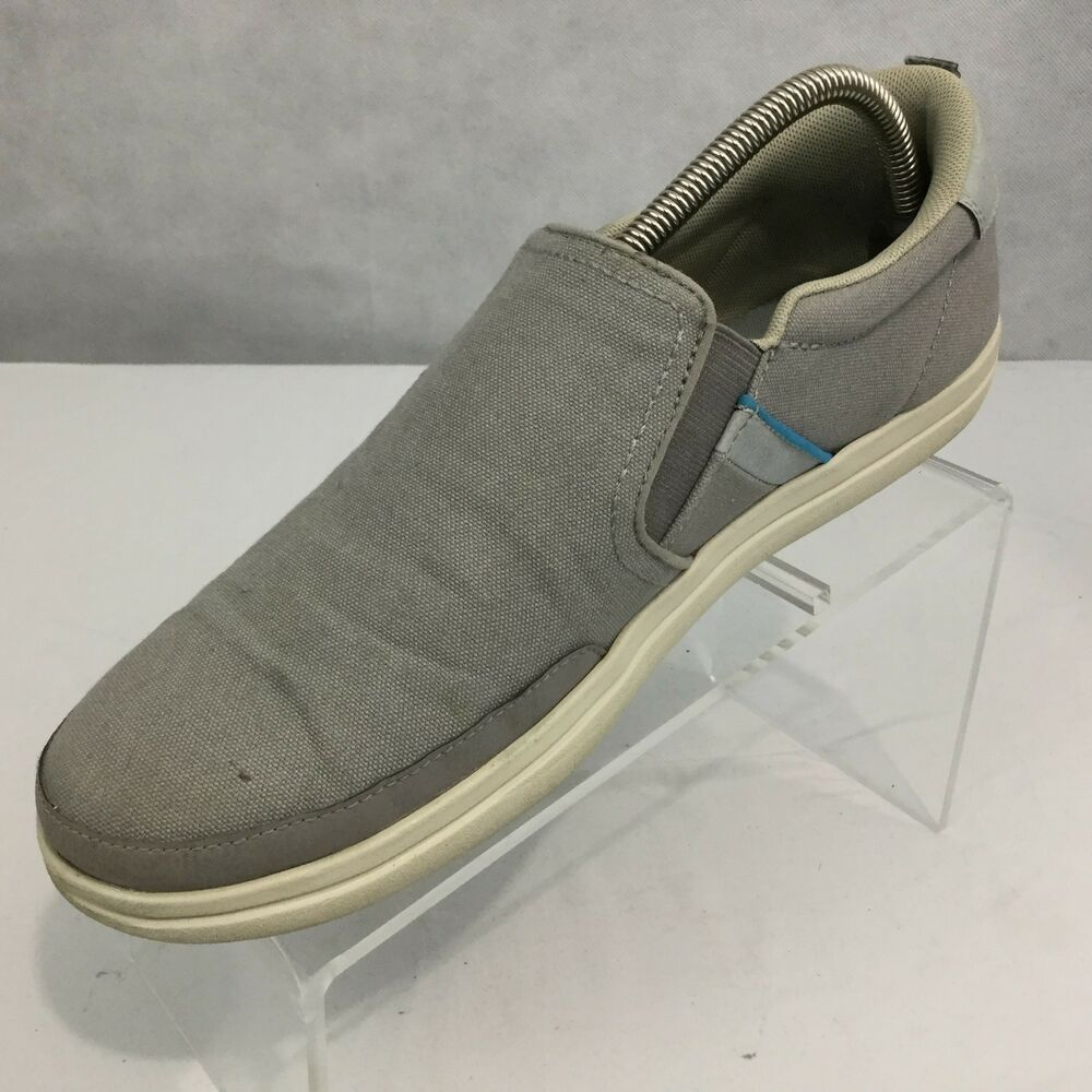 4e4ea293faa0ab Details about crocs torino slip ons canvas sneakers boat shoes loafers gray  blue mens jpg 1000x1000