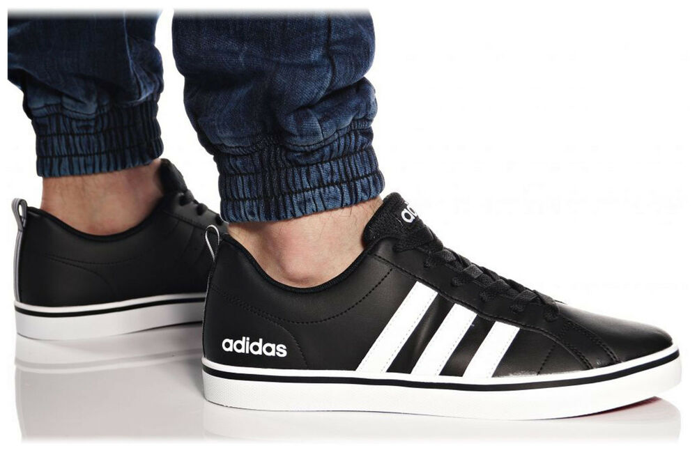 brand new 092d4 b4e3d Details about Adidas Neo Men Shoes Fashion Sneakers VS Pace 3 Stripes  Casual Black B74494 New