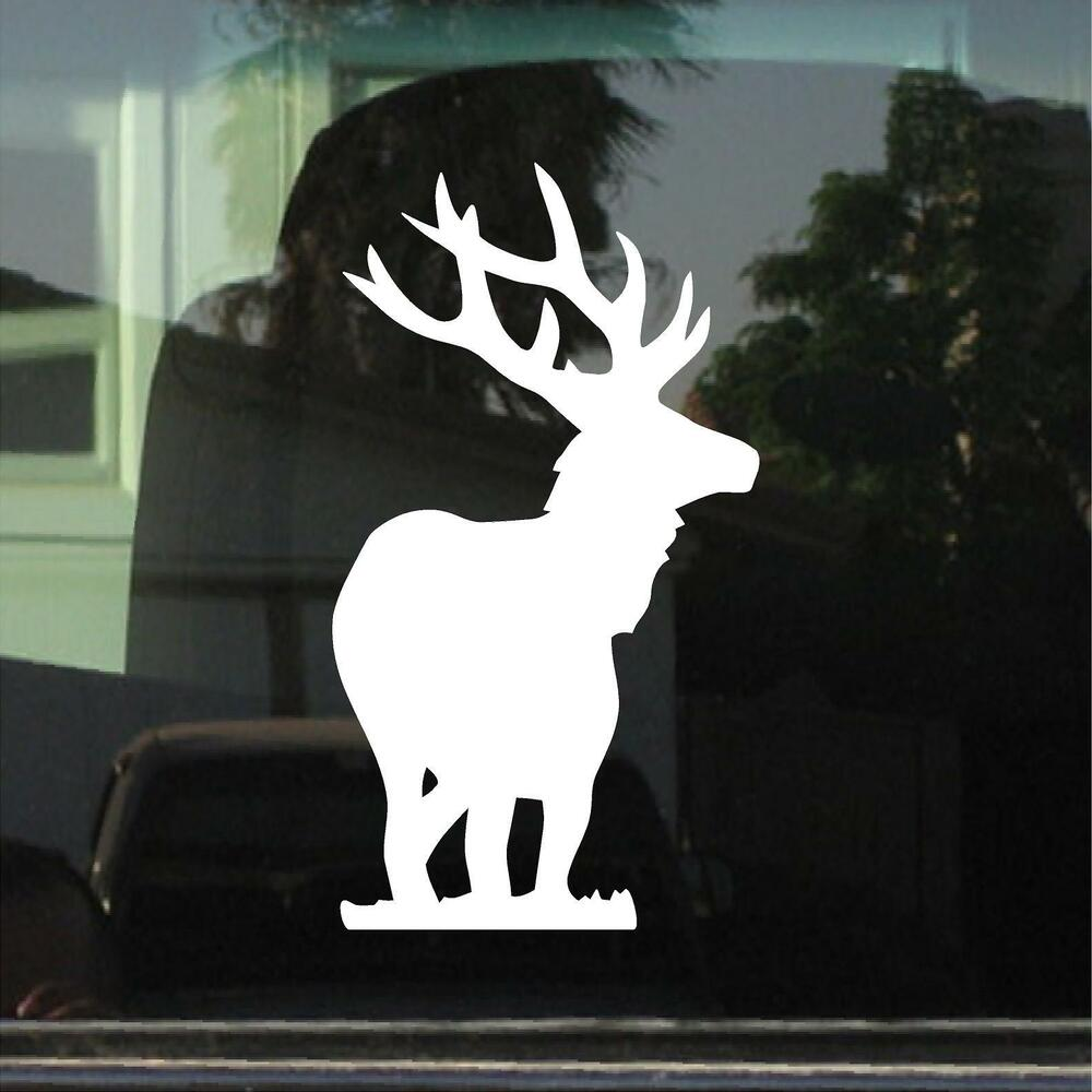 Details about elk car window laptop vinyl decal sticker
