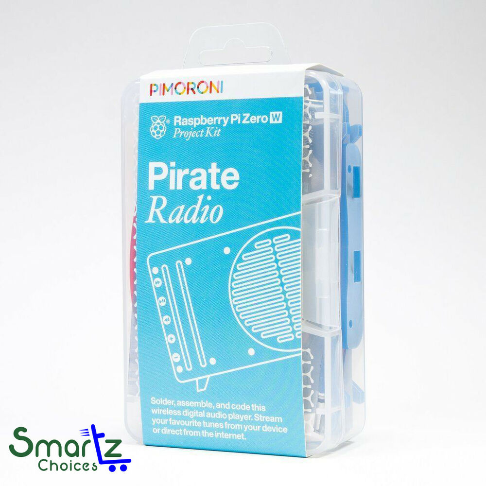 Pirate Radio - Raspberry Pi Zero W Project Kit Brand New