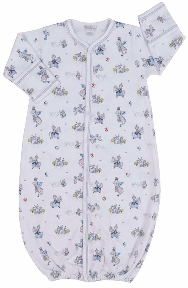 f70b520b7 Details about Kissy Kissy Baby-Boys Infant King of The Castle Print  Convertible Gown (25A)